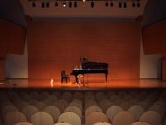 Small Hall piano